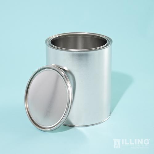 1 gallon unlined tin can no earsno bailwith plug 34carton