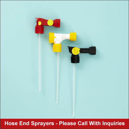 Image hose end sprayer