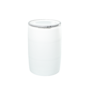 55 Gallon Natural Openhead Plastic Drum