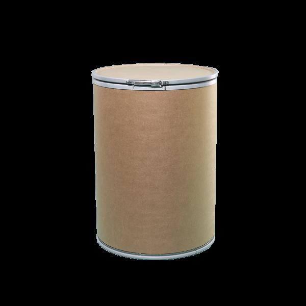 47 Gallon Openhead Dry Fiber Drum w/Fiber Cover