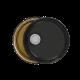 3.5-5 Gallon Black 24 Gauge UN RFI Cover w/Clear Lining