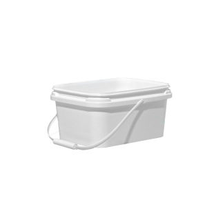 1 Gallon White HDPE EZ-Stor Pail