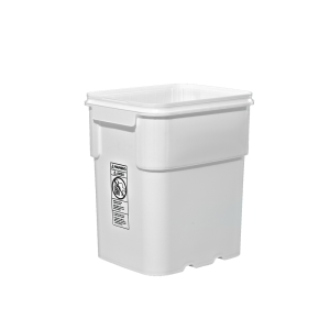 13 Gallon White HDPE EZ-Stor Pail