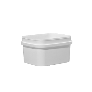 1.5 Gallon White HDPE EZ-Stor Pail