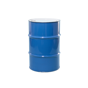 30 Gallon Blue Tight Head Unlined Steel Drum