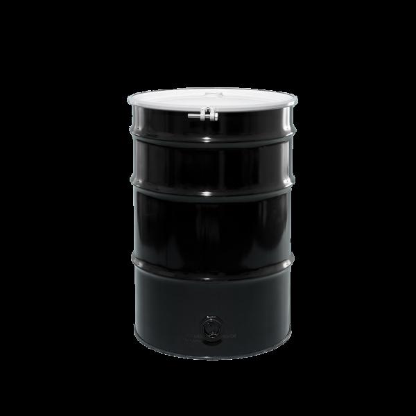 """55 Gallon Open Head Unlined Steel Drum 2"""" Body Bottom"""
