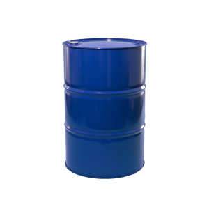 55 Gallon Blue Tight Head Lined Steel Drum