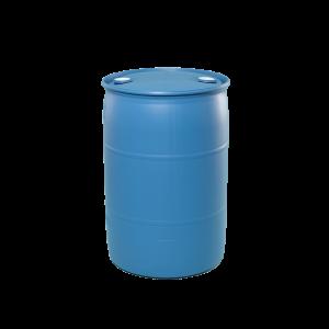 55 Gallon Blue Tight Head Plastic Drum