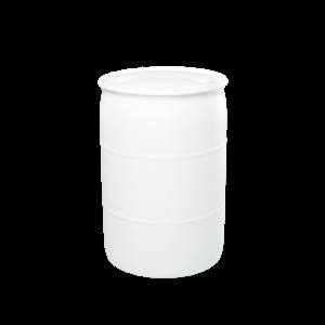 55 Gallon Natural Tight Head Plastic Drum