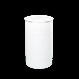 35 Gallon White Tight Head Plastic Drum
