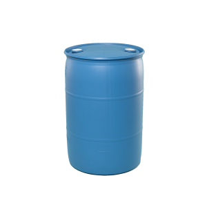 30 Gallon Blue Tight Head Plastic Drum