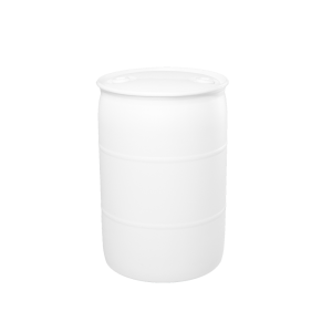 30 Gallon Natural Tight Head Plastic Drum