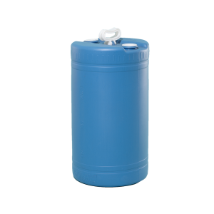 20 Gallon Blue Tight Head Double Handle Plastic Drum