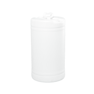 20 Gallon Natural Tight Head Double Handle Plastic Drum