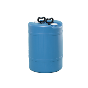 15 Gallon Blue Tight Head Double Handle Plastic Drum