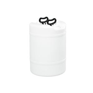 15 Gallon Natural Tight Head Double Handle Plastic Drum