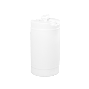 15 Gallon Natural Tight Head Single Handle Plastic Drum