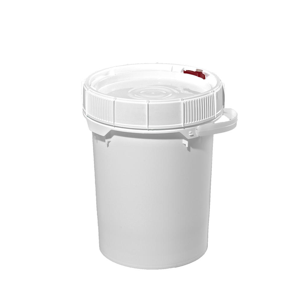5 Gallon White Plastic Screw-Top Pail w/Plastic Handle (New) - Illing  Company - Packaging Specialist | Plastic Bottles | Metal Containers | Pails  & Jerrycans | Plastic Pails