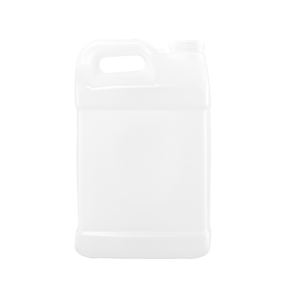 10 Liter Natural HDPE F-Style Container, 63mm