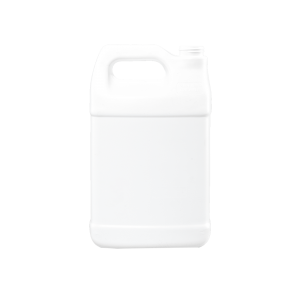 1 Gallon White HDPE F-Style Container, 38mm