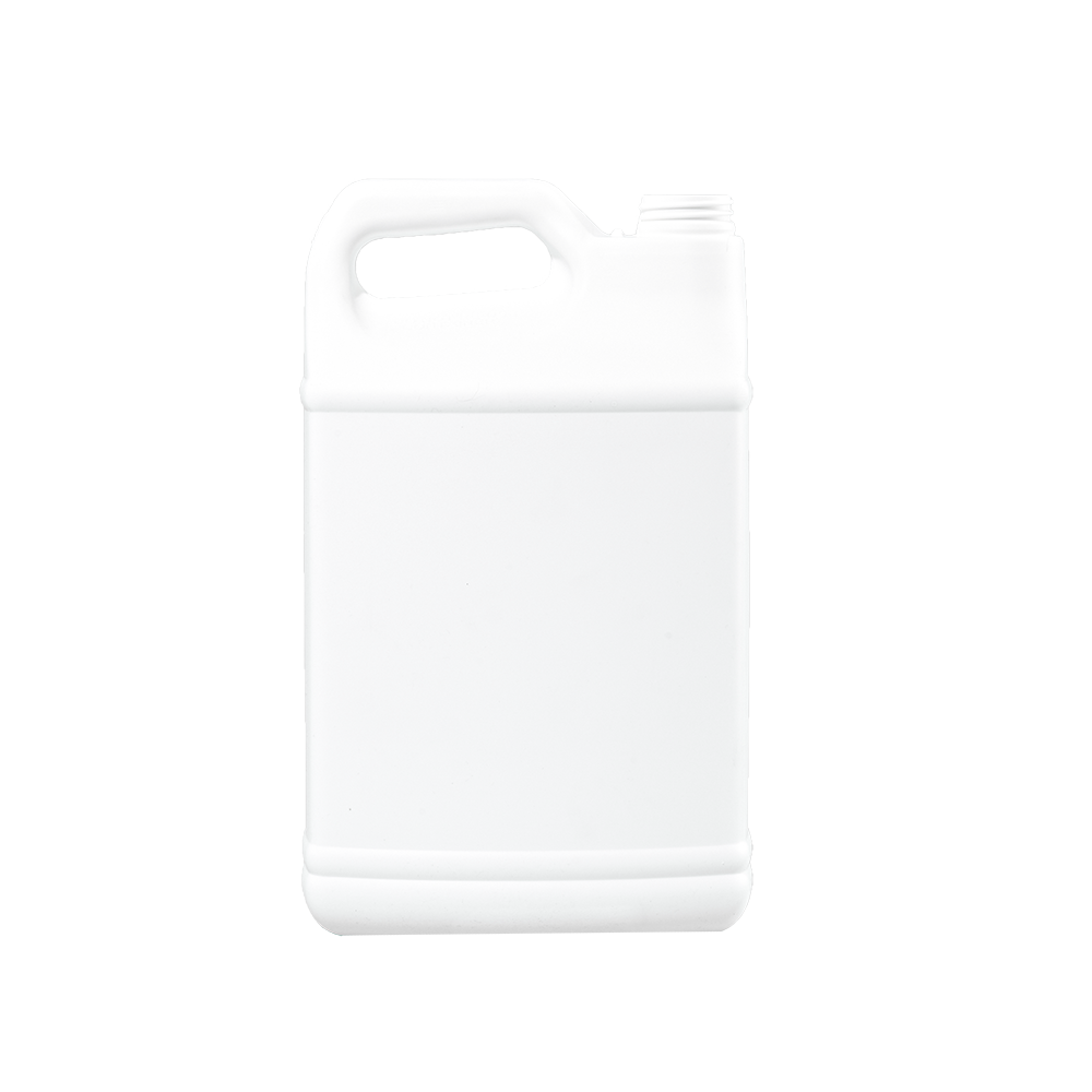 1 Gallon White HDPE F-Style Container, 38mm, FTL3