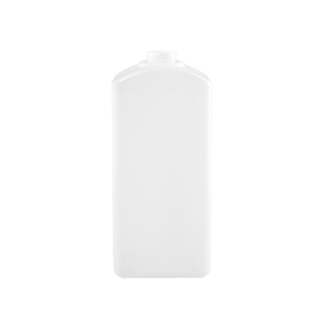 2500ml Natural HDPE Square Oblong Plastic Bottle, 38-400