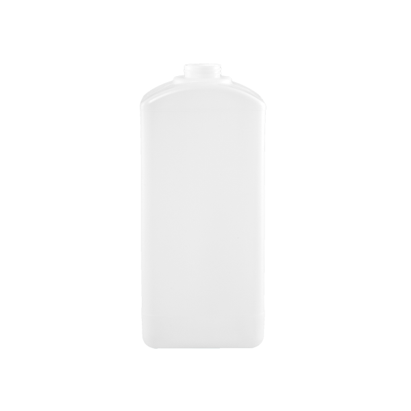 2500ml Natural HDPE Square Oblong Plastic Bottle, 38-400