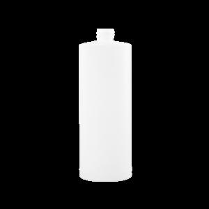 32 oz Natural HDPE Plastic Cylinder Bottle, 28-410, FTL5
