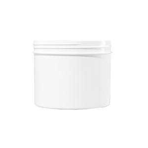 32 oz White PP Plastic Facial Jar, 120-400