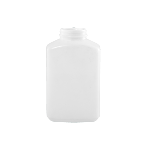 32 oz White PP Plastic Oblong Jar, 53-400