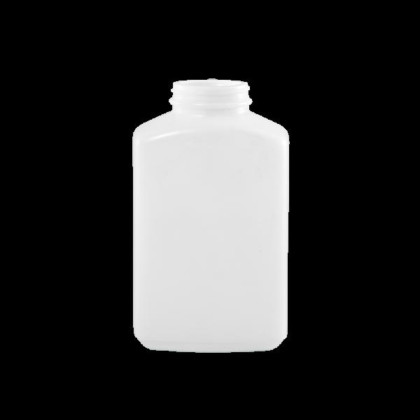 32 oz White PP Plastic Oblong Jar, 53-400