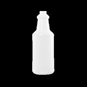 32 oz Natural HDPE Carafe/Decanter Bottle, 28-410