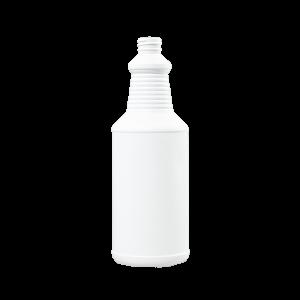 32 oz Blue-White HDPE Carafe/Decanter Bottle, 28-400