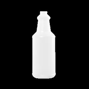 32 oz Natural HDPE Carafe/Decanter Bottle, 28-400, FTL3