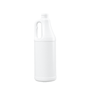 32 oz. White HDPE Round Handleware Container, 28-410