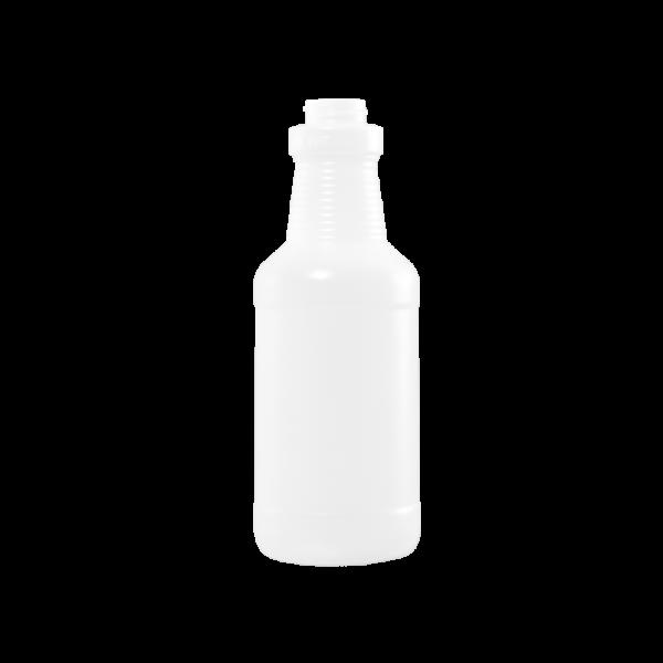 16 oz Natural HDPE Carafe/Decanter Bottle, 28-400