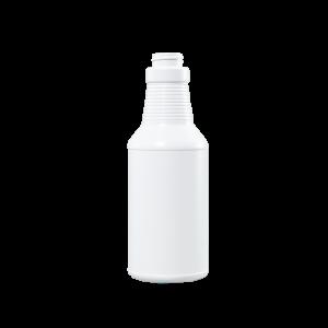 16 oz Blue-White HDPE Carafe/Decanter Bottle, 28-400, FTL3