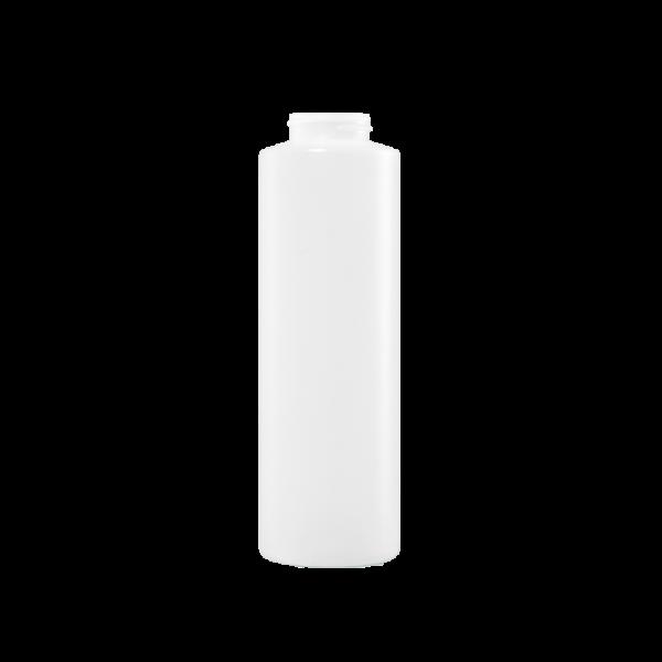 16 oz Natural HDPE Plastic Cylinder Bottle, 38-400