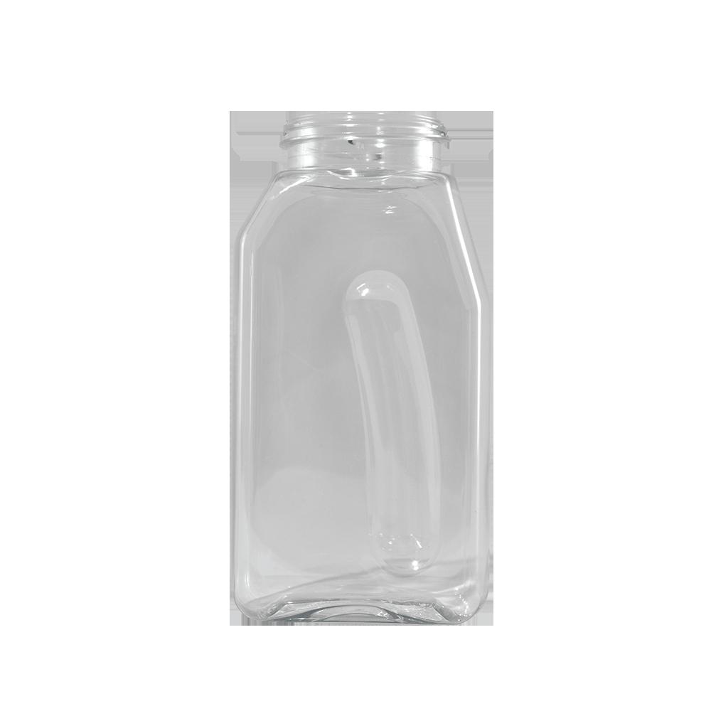 16 oz. Clear PET Plastic Spice Jar, 53-485