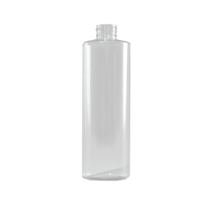 16 oz Clear PVC Plastic Cylinder Bottle, 28-410