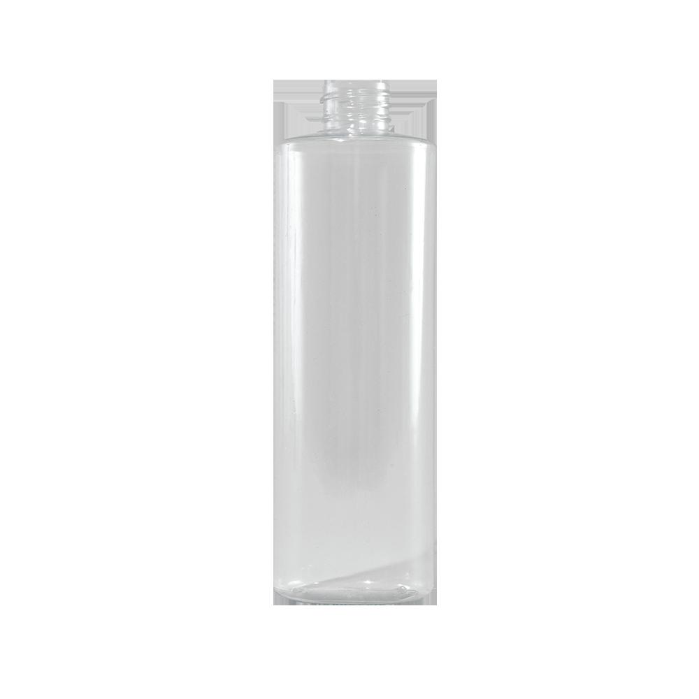 16 oz Clear PVC Plastic Cylinder Bottle, 28-410