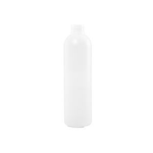 8 oz Natural HDPE Plastic Bullet Bottle, 24-410