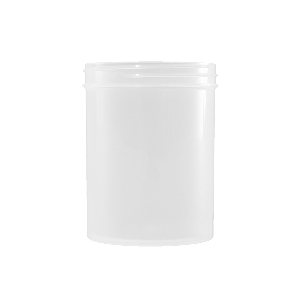 8 oz Natural PP Plastic Facial Jar, 70-400