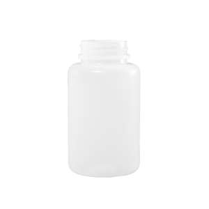 150 cc Natural HDPE Plastic Packer Bottle, 38-400