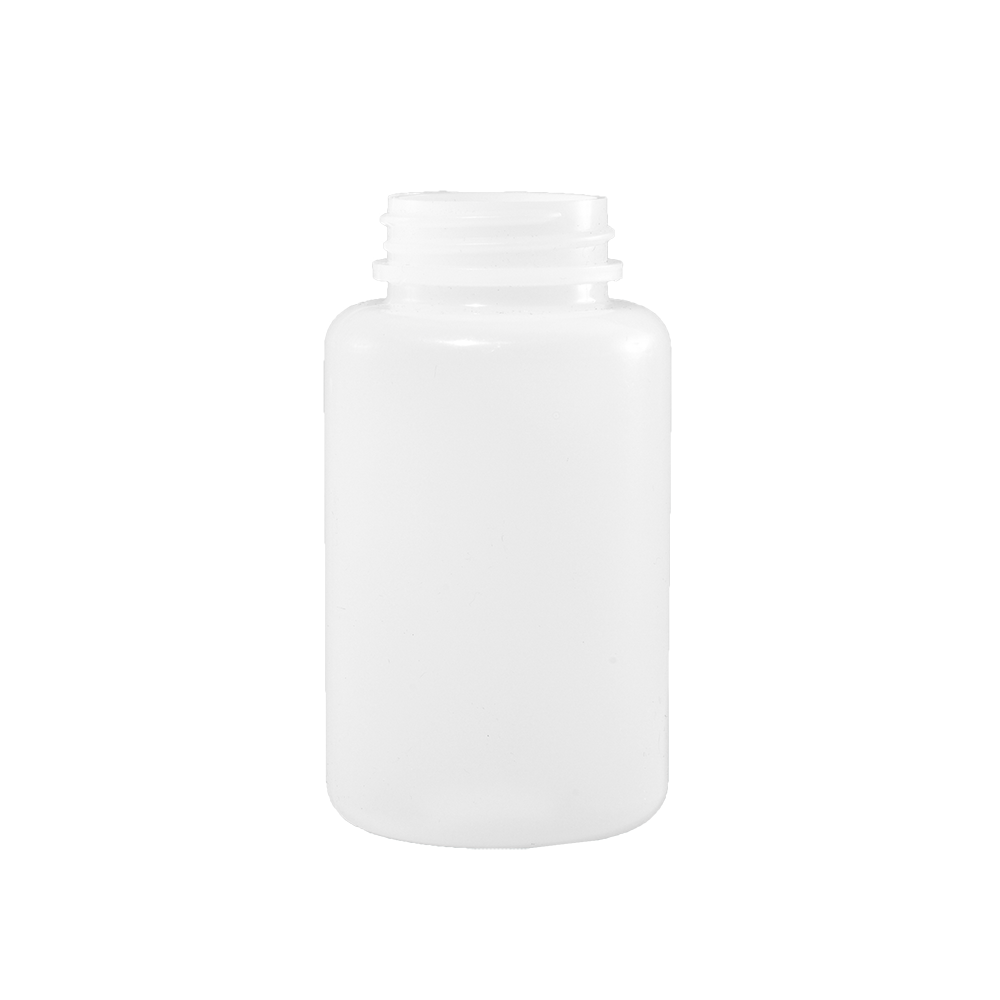 150 cc Natural HDPE Plastic Packer Bottle, 38-400