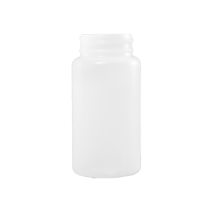 120 cc Natural HDPE Plastic Packer Bottle, 38-400