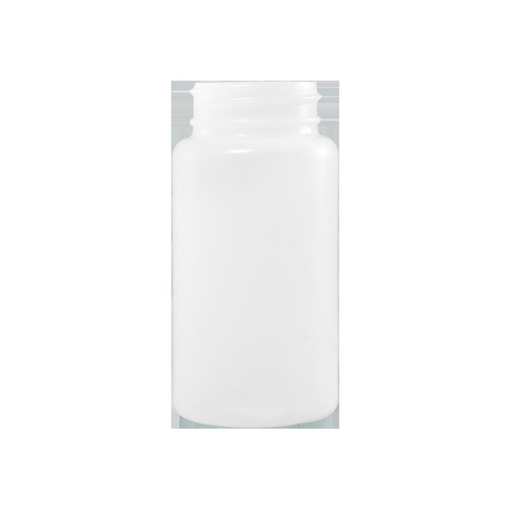 120 cc Natural HDPE Plastic Packer Bottle, 38-400