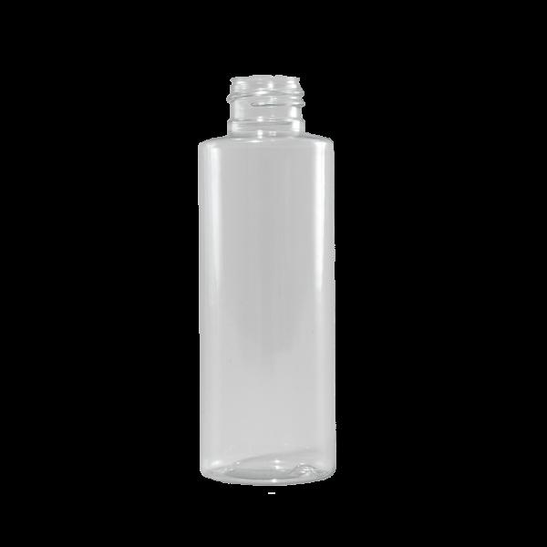 4 oz Clear PVC Plastic Cylinder Bottle, 24-410
