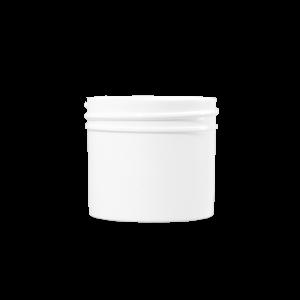 3 oz Natural STYRENE Plastic Facial Jar, 53-400