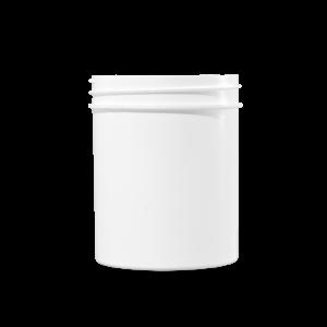 4 oz White PP Plastic Facial Jar, 58-400